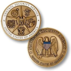 Central Security Service of the National Security Agency Challenge Coin