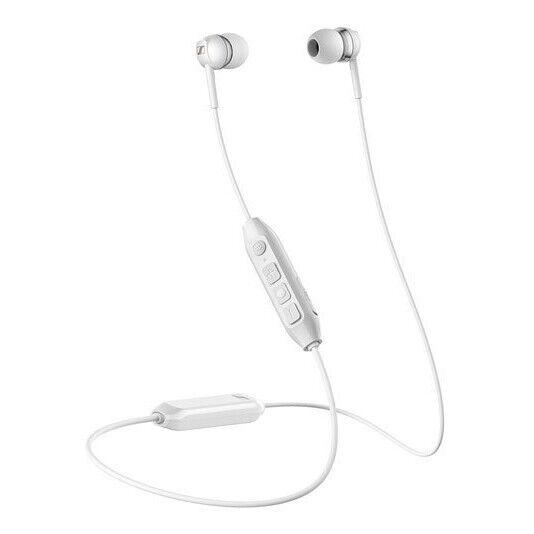 Sennheiser CX 350BT White Bluetooth Wireless Earphones Headphones Earbuds 08383