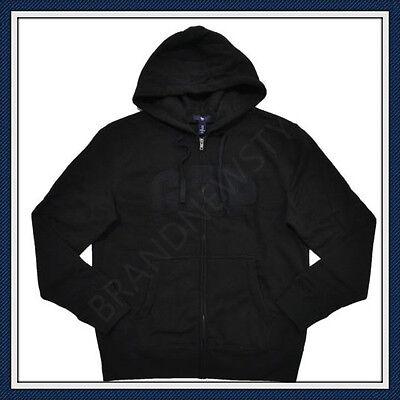 Arched Logo Zip - GAP ARCH LOGO Zip Hoodie Sweatshirts BLACK  Jacket  MENS NEW U  pick size S M L