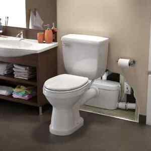 Saniflo Saniaccess3 082 Pump Elongated Bowl Toilet With