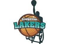 Craigavon Lakers Wheelchair Basketball Team