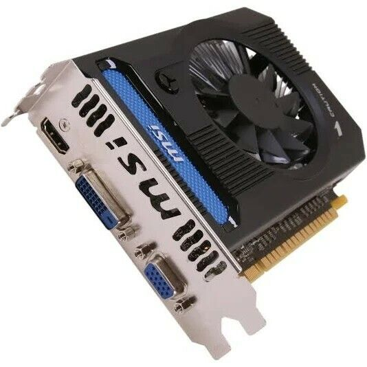 MSI N640GT MD1GD3 GeForce GT 640 1GB DDR3 PCI Express 3.0 X16 HDCP Ready  - $24.20