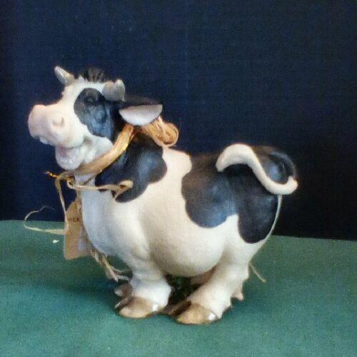 Caroline Cow Figurine - NIB