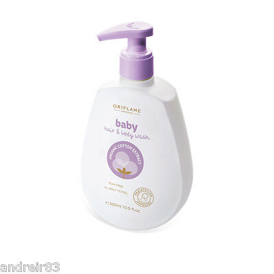 Oriflame Baby Hair Body Wash Shampoo Shower Gel for Children Kids 300ml 25282
