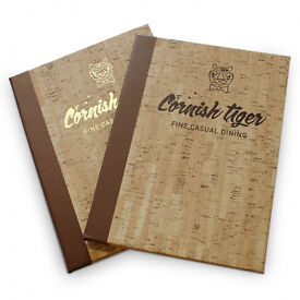 Create an attractive menu cover from Smartuk