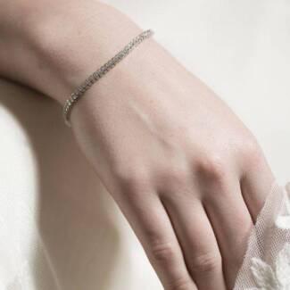 Stephanie Browne - Misty Bracelet - Swarovski Tennis Bracelet