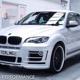 BMW X6 full hamman body kit