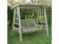 Share Save Wooden Garden Swing, Wooden Garden Furniture , Wooden Swing . Hammock . Outdoor