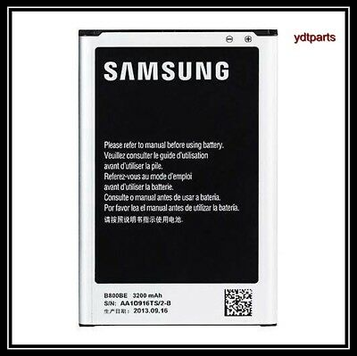 New for Samsung Galaxy Note 3 Replacement Battery B800BU/BC/BE 3200 mAh OEM