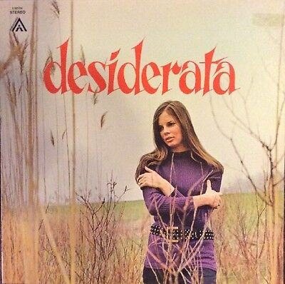 CHARLES MARTIN Desiderata LP, Private Xian Folk Psych On Ambassador