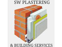 SW PLASTERING & BUILDING SERVICES/EWI RENDER SYSTEMS,REPOINTING&WALLTIE SPECIALISTS