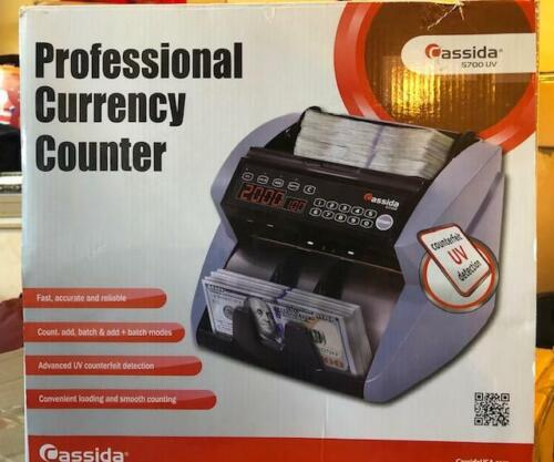 Cassida 5700 Professional Currency Counter