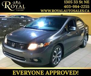 2012 Honda Civic Sdn Si SUNROOF, BLUETOOTH, MAN TRANS