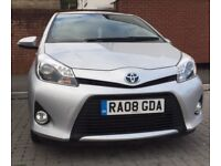 TOYOTA Yaris Silver Hybrid Automatic 31200miles £8450 OVNO