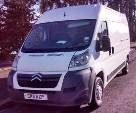 Man with Van -Reliable and reasonable rates Van and driver only at £11 p/h - cheaper than van hire