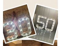 4ft Light up Numbers