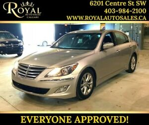 2012 Hyundai Genesis Sedan w/Premium Pkg LEATHER, BLUETOOTH, SUN