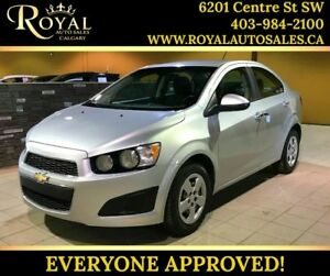 2013 Chevrolet Sonic LT INT PHONE, BLUETOOTH, MP3