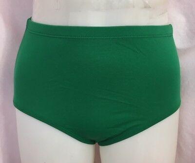 Body Wrappers Jubeln Athletik Unterwäsche, Kelly Green, Kind Size 7-10