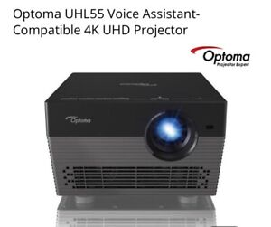 Optoma UHL55 4k Voice Command Alexa -  Google Assist