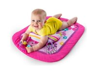 Tummy time play & prop mat NEW