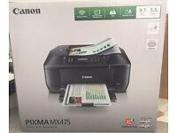 Canon PIXMA MX475 Wireless Colour Printer: Print - Copy - Scan - Fax