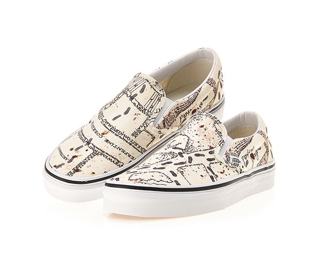 VANS Harry Potter Classic Slip on Shoes Sneakers MARAUDERS MAP VN0A4BV3V3C1 | eBay