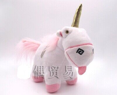 Despicable Me 2 Minions Fluffy Unicorn Plush Licensed Toy Doll . From USA