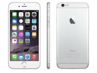 iPHONE 6 16GB, SHOP RECEIPT & WARRANTY, SILVER