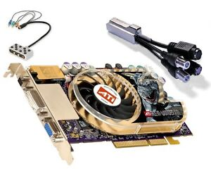 ATI All-in-Wonder X800XT AGP8X 256MB with built in TV tuner