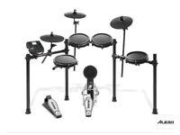 Alesis nitro electronic drum kit + drum stool