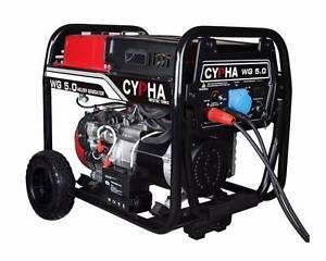 Cypha 5.63KVA Portable Welder Generator. 200 amp Arc Welding. Roselands Canterbury Area Preview