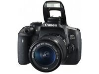 Brand New Canon EOS 750D DSLR Camera with 18-55mm Lens
