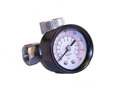 Air Regulator With Pressure Gauge In-line Air Regulator Spray Gun Regulator