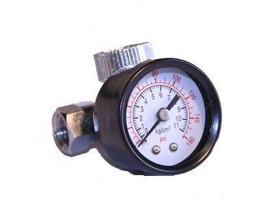 Air Regulator With Pressure Gauge In-line Air Regulator Spray Gun Regulator