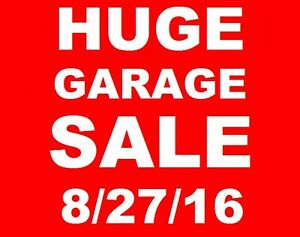 HUGE GARAGE SALE 100'S OF NEW AND USED ITEMS