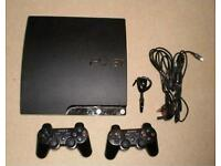 Ps3 250gb + 6 games +2 controllers