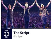 4 x The Script Tickets