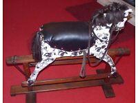 Retro Rocking Horse