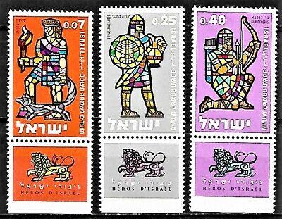 Israel Sc. #208-10 Jewish New Year 5722, Historical Leaders, 1963, MNH