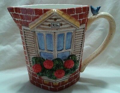Geranium Pitcher by Department 56 - NEW - RETIRED
