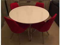 Dining table and 3 dining chairs new
