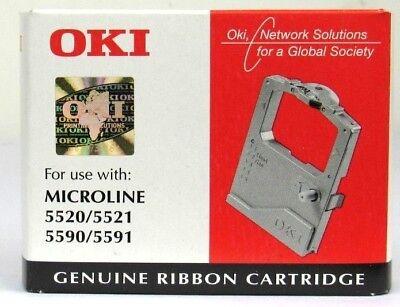 Genuine Original Oki Ink Ribbon 01126301 OKI Microline 5520 5521 5590 5591