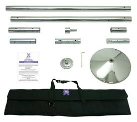 Xpert Dancing chrome Pole 45mm static and spinning. almost brand new,Only a few months old. RRP $299