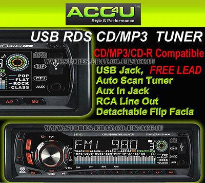 Sub Zero Ice AUTO CD MP3 USB SD CARD RDS SINTONIZZATORE RADIO INGRESSO AUX-IN