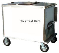 Ice Cream Pushcart Freezer