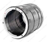 Set Tubi Macro Sony Alpha Kit Tubo Prolunga Obiettivo 16-50mm 18-55mm A580 A33 - sony - ebay.it