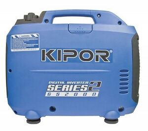 GS2000 KIPOR 2kVA Digital Portable Invertor Generator Caravan Camping  New