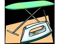 Jackies ironing & domestic cleaning service.