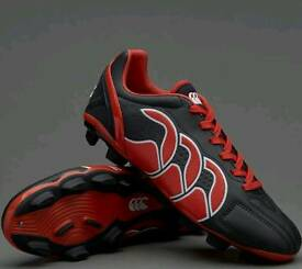Brand New Canterbury Stampede Club 8-Stud Rugby Boots